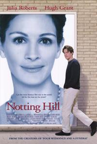 Notting Hill - 11 x 17 Movie Poster - Style A - Museum Wrapped Canvas