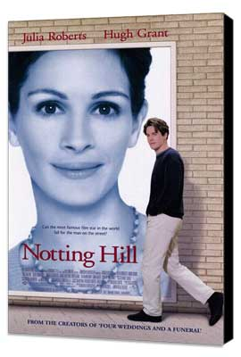 Notting Hill - 27 x 40 Movie Poster - Style A - Museum Wrapped Canvas