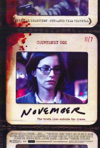 November - 11 x 17 Movie Poster - Style A