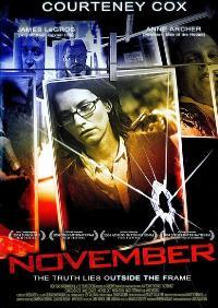 November - 11 x 17 Movie Poster - Style B