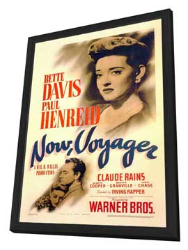 Now, Voyager - 11 x 17 Movie Poster - Style A - in Deluxe Wood Frame
