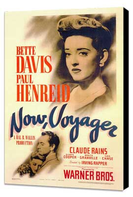 Now, Voyager - 27 x 40 Movie Poster - Style A - Museum Wrapped Canvas
