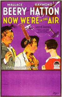 Now We're in the Air - 11 x 17 Movie Poster - Style A