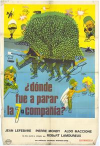 Now Where Did the Seventh Company Get to? - 11 x 17 Movie Poster - Spanish Style A