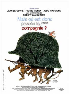 Now Where Did the Seventh Company Get to? - 11 x 17 Movie Poster - French Style A