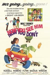 Now You See Him, Now You Don't - 11 x 17 Movie Poster - Style B