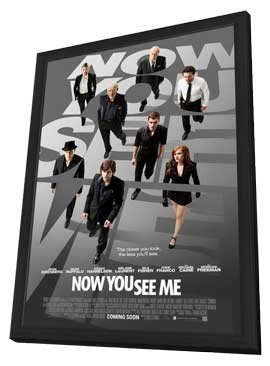 Now You See Me - 27 x 40 Movie Poster - Style A - in Deluxe Wood Frame