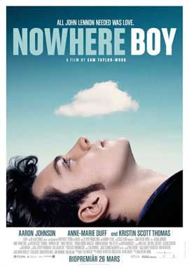 Nowhere Boy - 11 x 17 Movie Poster - Swedish Style A