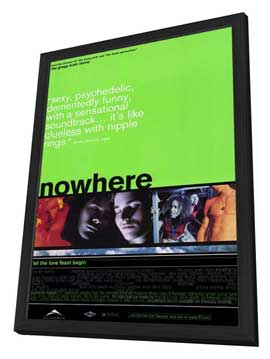Nowhere - 27 x 40 Movie Poster - Style A - in Deluxe Wood Frame