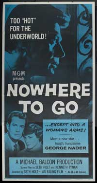 Nowhere to Go - 20 x 40 Movie Poster - Style A