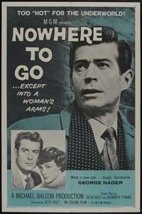 Nowhere to Go - 27 x 40 Movie Poster - Style A