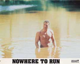 Nowhere to Run - 11 x 14 Movie Poster - Style D