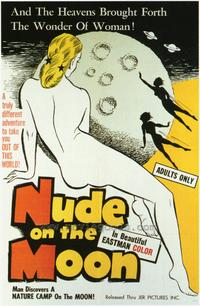 Nude on the Moon - 43 x 62 Movie Poster - Bus Shelter Style A