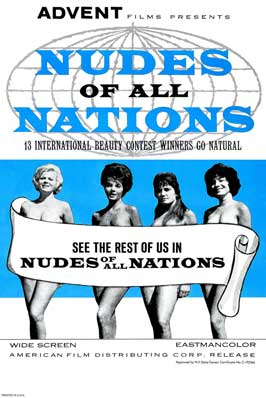 Nudes of All Nations - 27 x 40 Movie Poster - Style A