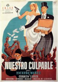 Nuestro Culpable - 11 x 17 Movie Poster - Spanish Style A