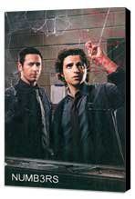 Numb3rs - 11 x 17 TV Poster - Style B - Museum Wrapped Canvas
