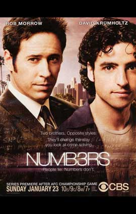 Numb3rs - 11 x 17 TV Poster - Style A