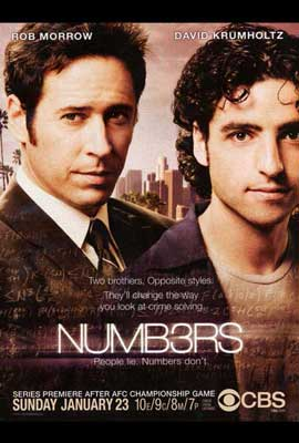 Numb3rs - 27 x 40 TV Poster - Style A