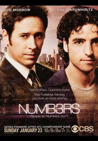 Numb3rs - 43 x 62 Movie Poster - Bus Shelter Style A