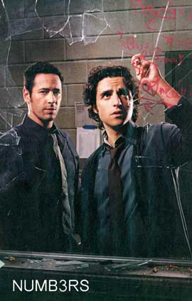 Numb3rs - 11 x 17 TV Poster - Style B