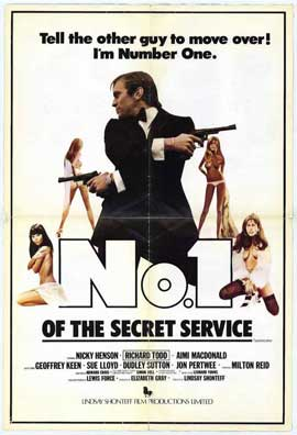 Number One of the Secret Service - 11 x 17 Movie Poster - Style B