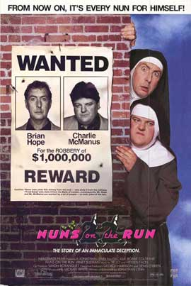 Nuns on the Run - 27 x 40 Movie Poster - Style A