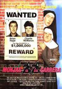 Nuns on the Run - 27 x 40 Movie Poster - Spanish Style A