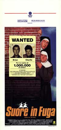Nuns on the Run - 13 x 28 Movie Poster - Italian Style A