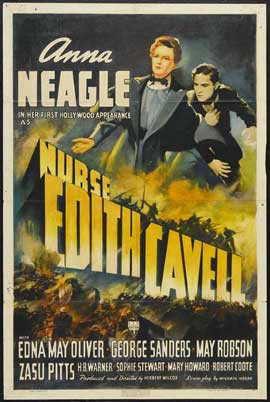 Nurse Edith Cavell - 27 x 40 Movie Poster - Style A