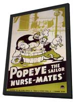 Nurse-Mates - 11 x 17 Movie Poster - Style A - in Deluxe Wood Frame