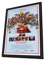 Nutcracker: The Motion Picture - 11 x 17 Movie Poster - Style A - in Deluxe Wood Frame
