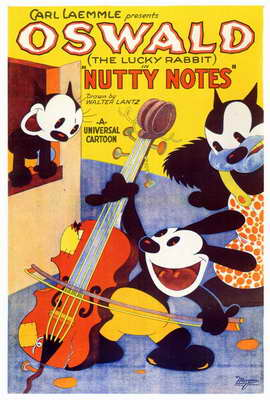 Nutty Notes - 27 x 40 Movie Poster - Style A