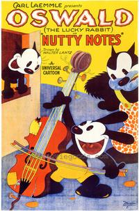 Nutty Notes - 43 x 62 Movie Poster - Bus Shelter Style A