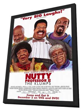 Nutty Professor 2: The Klumps - 11 x 17 Movie Poster - Style A - in Deluxe Wood Frame