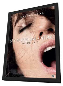 Nymphomaniac Part Two - 11 x 17 Movie Poster - Spanish Style A - in Deluxe Wood Frame