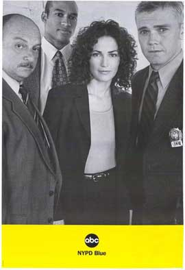 NYPD Blue - 27 x 40 TV Poster - Style A