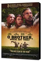 O Brother Where Art Thou? - 27 x 40 Movie Poster - Style B - Museum Wrapped Canvas