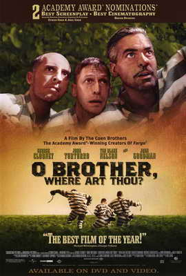 O Brother Where Art Thou? - 27 x 40 Movie Poster - Style B