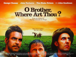 O Brother Where Art Thou? - 30 x 40 Movie Poster UK - Style A