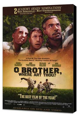 o brother where art thou poster  Brother Where Art Thou? -