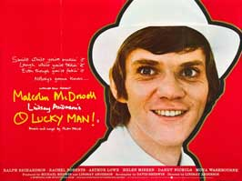 O Lucky Man! - 27 x 40 Movie Poster - UK Style B