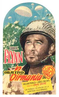 Objective, Burma - 27 x 40 Movie Poster - Spanish Style A