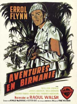 Objective, Burma! - 11 x 17 Movie Poster - Spanish Style A