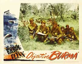 Objective, Burma! - 11 x 14 Movie Poster - Style F