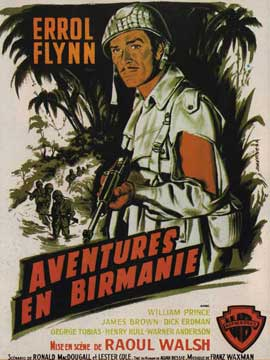 Objective Burma - 11 x 17 Movie Poster - French Style A