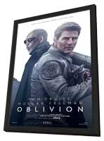 Oblivion - 27 x 40 Movie Poster - Style C - in Deluxe Wood Frame