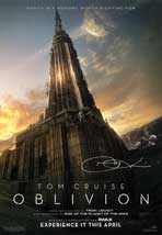 Oblivion - 18 x 26 Movie Poster - Signed by Director (Joe Kosinski)