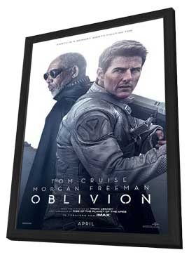 Oblivion - 11 x 17 Movie Poster - Style C - in Deluxe Wood Frame