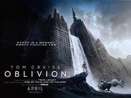 Oblivion - British Quad 30 x 40 - Style A