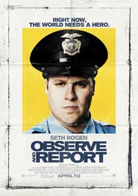 Observe and Report - 43 x 62 Movie Poster - Bus Shelter Style A
